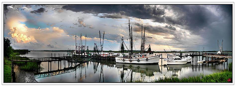 Dockside   Port Royal S C by Gordon Fritz