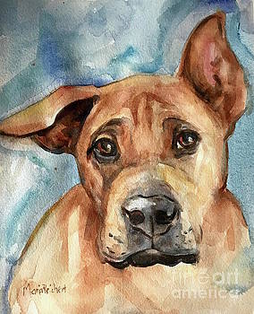 Dog Art by Maria's Watercolor