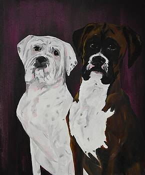 Dog Portraits by Susan Voidets