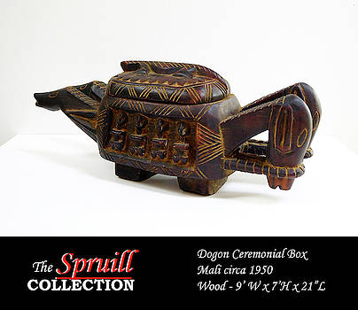 Dogon Ceremonial Box by Everett Spruill
