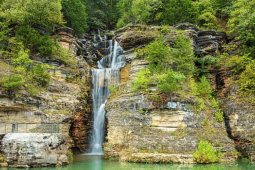 Dogwood Canyon Waterfall by Steven Bateson
