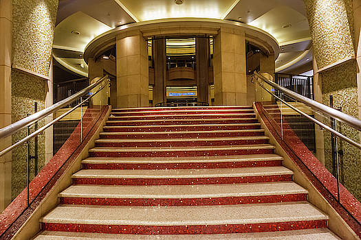 Dolby Theater staircase by Natalia Macheda