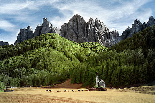 Dolomite Church by Jon Glaser
