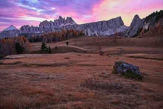 Jon Glaser - Dolomite Sunrise