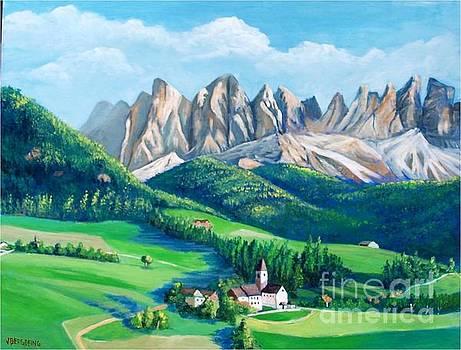 Dolomites, Italy by Jean Pierre Bergoeing