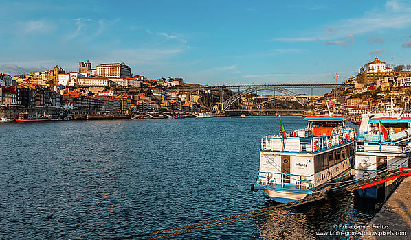 Dom Luis Bridge  by Fabio Gomes Freitas