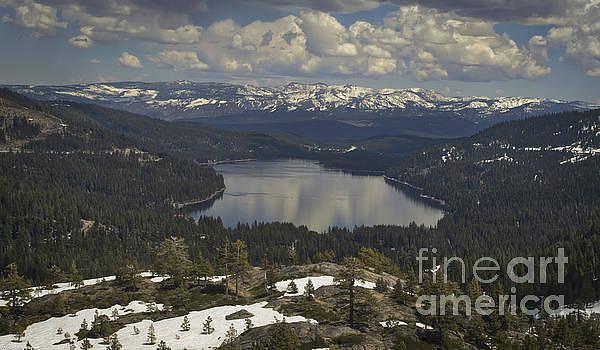 Donner Lake Spring by Mitch Shindelbower