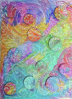 Doodle 3d by Kathy Strauss