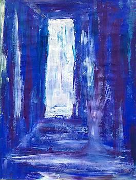 Blue Door to Eternity by Soul Artist Robin