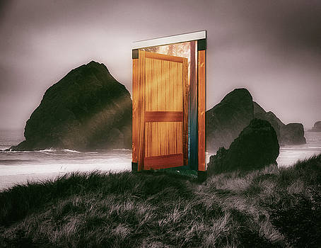 Mike Penney - Door on the beach