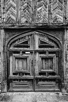 Door to a Black and White Past by Chris Buff