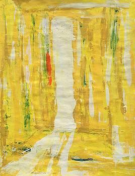 Yellow Door To Eternity by Soul Artist Robin