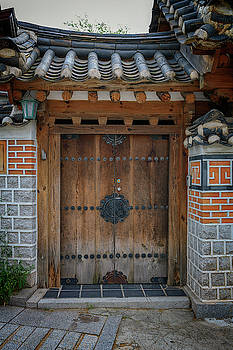 Doorway in Bukchon by Rick Berk