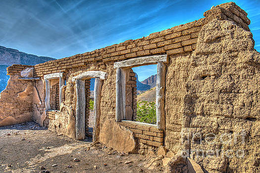 Dorgan House Ruins by Charles Dobbs