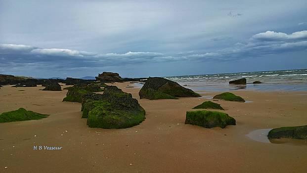 Dornoch Beach, Scotland by B Vesseur