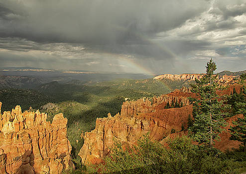 Double Rainbow Over Bryce by Tom Kelly