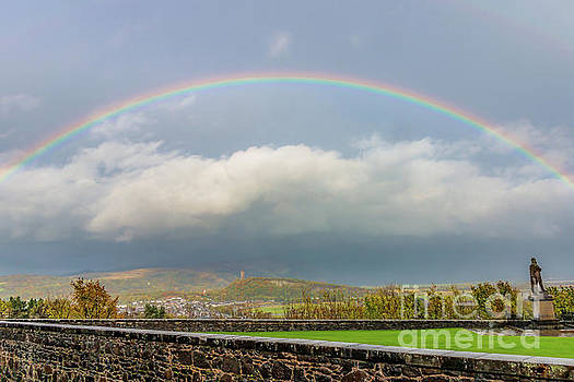 Double Rainbow Over Stirling by Elizabeth Dow