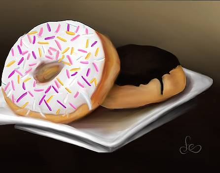 Doughnut life by Fe Jones