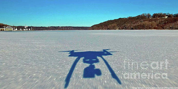 Down low over St. Croix River by Pictures Over Stillwater