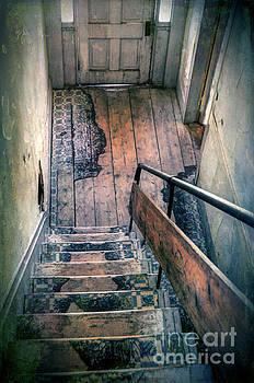 Down the Stairs by Jill Battaglia