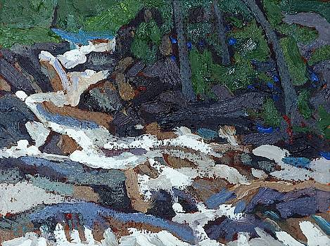 Phil Chadwick - Downstream from the Grande Chute Ledges