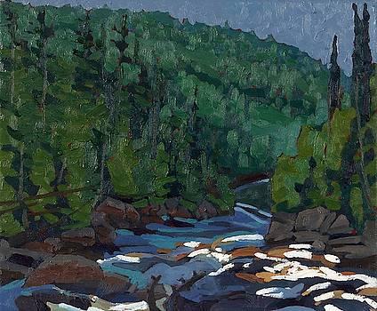 Phil Chadwick - Downstream on the Dumoine Grande Chute