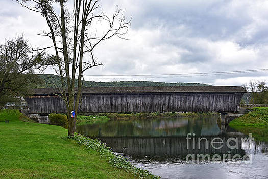 Downsville Covered Bridge, New York by Catherine Sherman
