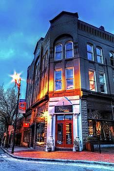 Downtown Asheville Shops by Carol Montoya