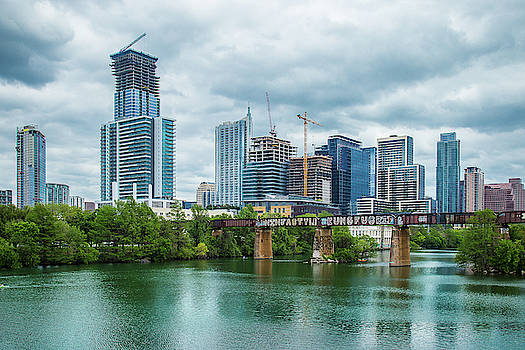 Downtown Austin by Steven Bateson