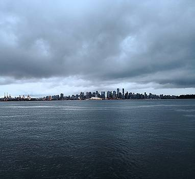 Downtown from the North Shore by Jordan Barnes