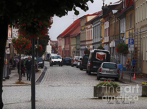 Downtown Herzberg Germany by Laura Birr Brown