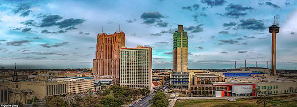 Downtown SA by Gaylon Yancy