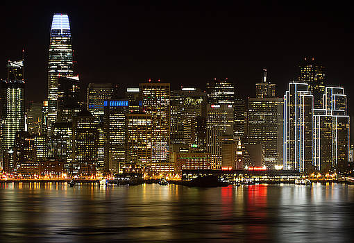 Downtown San Francisco Skyline  by Nathan Rupert