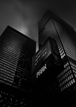 Downtown Toronto Fogfest No 16 by Brian Carson