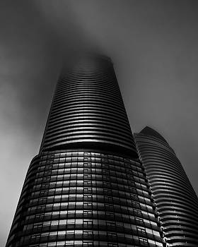Downtown Toronto Fogfest No 21 by Brian Carson