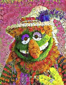Dr. Teeth Flower Mosaic by Paul Van Scott