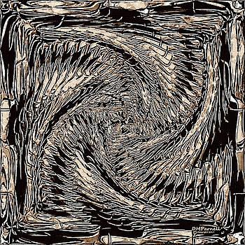 Dragon Bone Art One by Diane Parnell