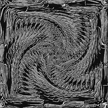 Dragon Bone Art One Metallic by Diane Parnell