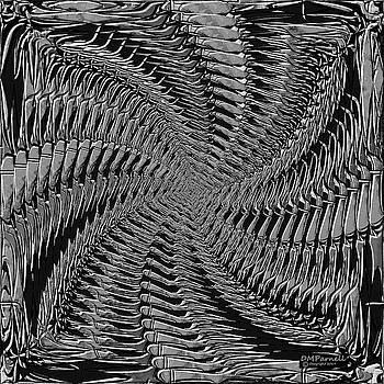 Dragon Bone Art Six Metallic by Diane Parnell