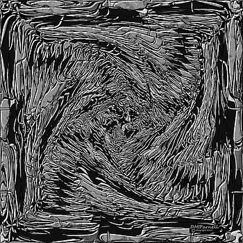 Dragon Bone Art Two Metallic by Diane Parnell