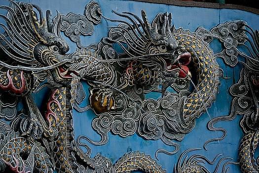 Dragon Detail by Russ Barneveld