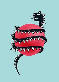 Dragon Snake Monster by Boriana Giormova