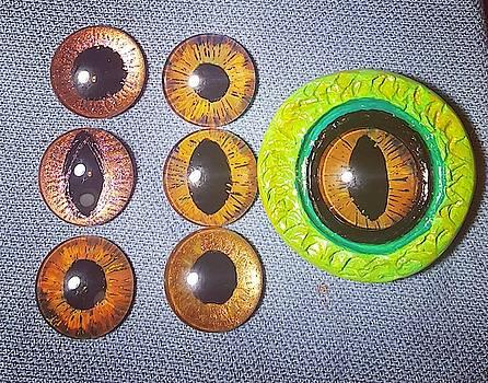 Dragon's Eyes by Keri Fuller