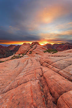 Dragon's Tail Sunset by Brian Knott Photography