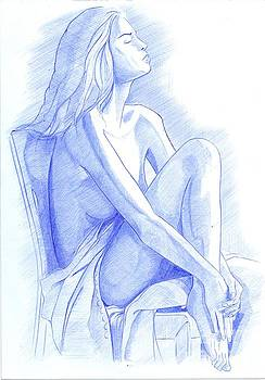 Dreaming Woman by Oleg Kozelskiy