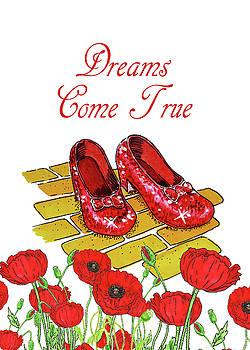 Irina Sztukowski - Dreams Come True Wizard Of Oz Ruby Slippers