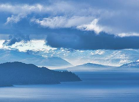 Dreamy Kind of Blue by Martin Gollery
