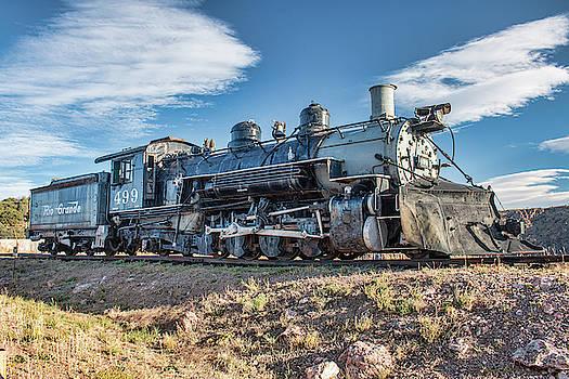Kristia Adams - DRGW Steam Locomotive 499