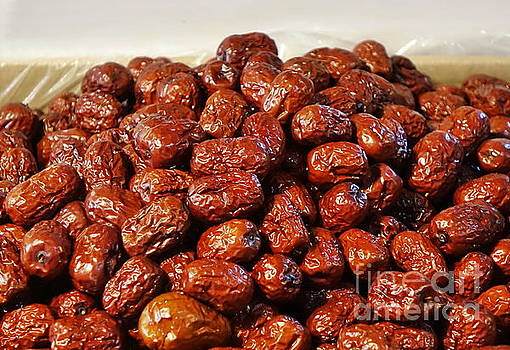 Dried Chinese Red Dates by Yali Shi