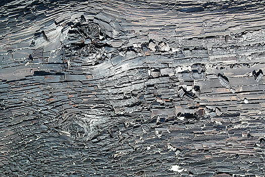 Driftwood Abstract by Michele Myers